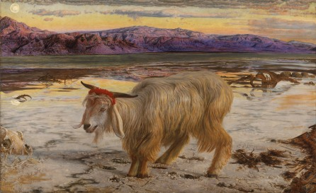 William Holman Hunt: The Scapegoat, 1854.